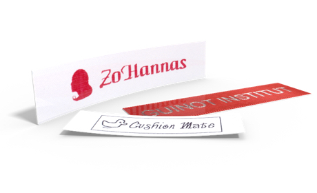 Classic Printed Satin Labels