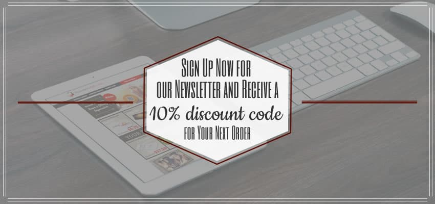 Sign up now for our newsletter and receive a 10% discount code for your next order here at wunderlabel.com