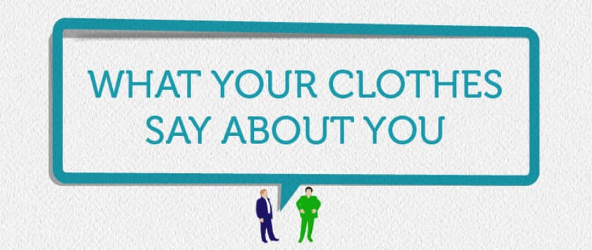 [Infographic] What Your Clothing Colour Says About You