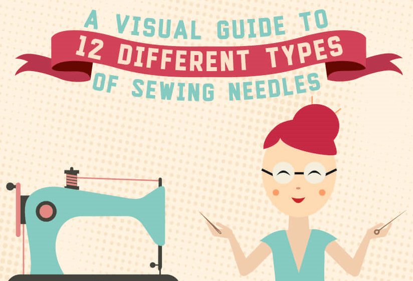 [Infographic] A Visual Guide to 12 Different Types of Sewing Needles