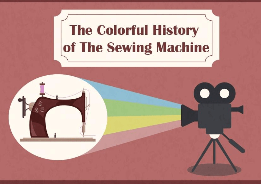 [Infographic] An Illustrated History of the Sewing Machine