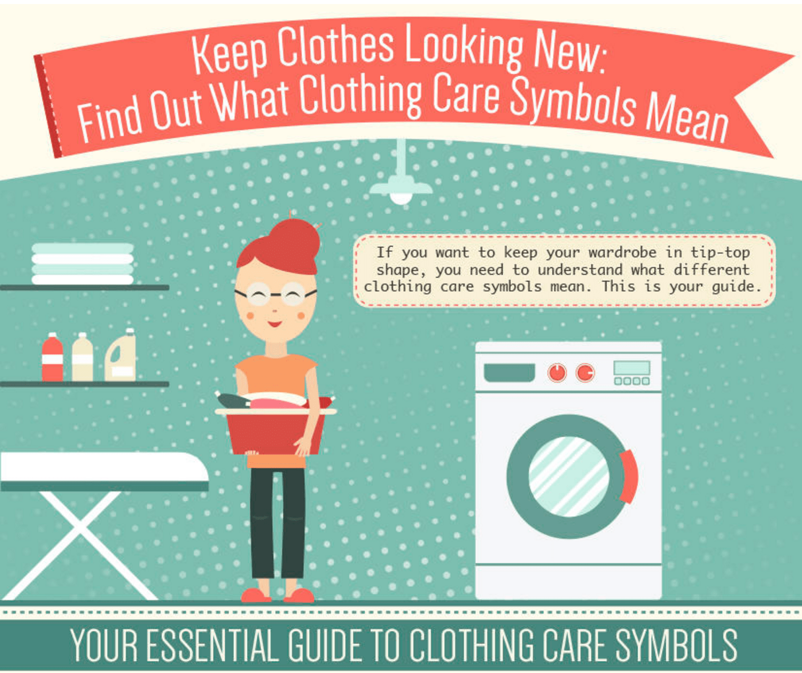 Clothing Care Symbols: Find Out What They Mean