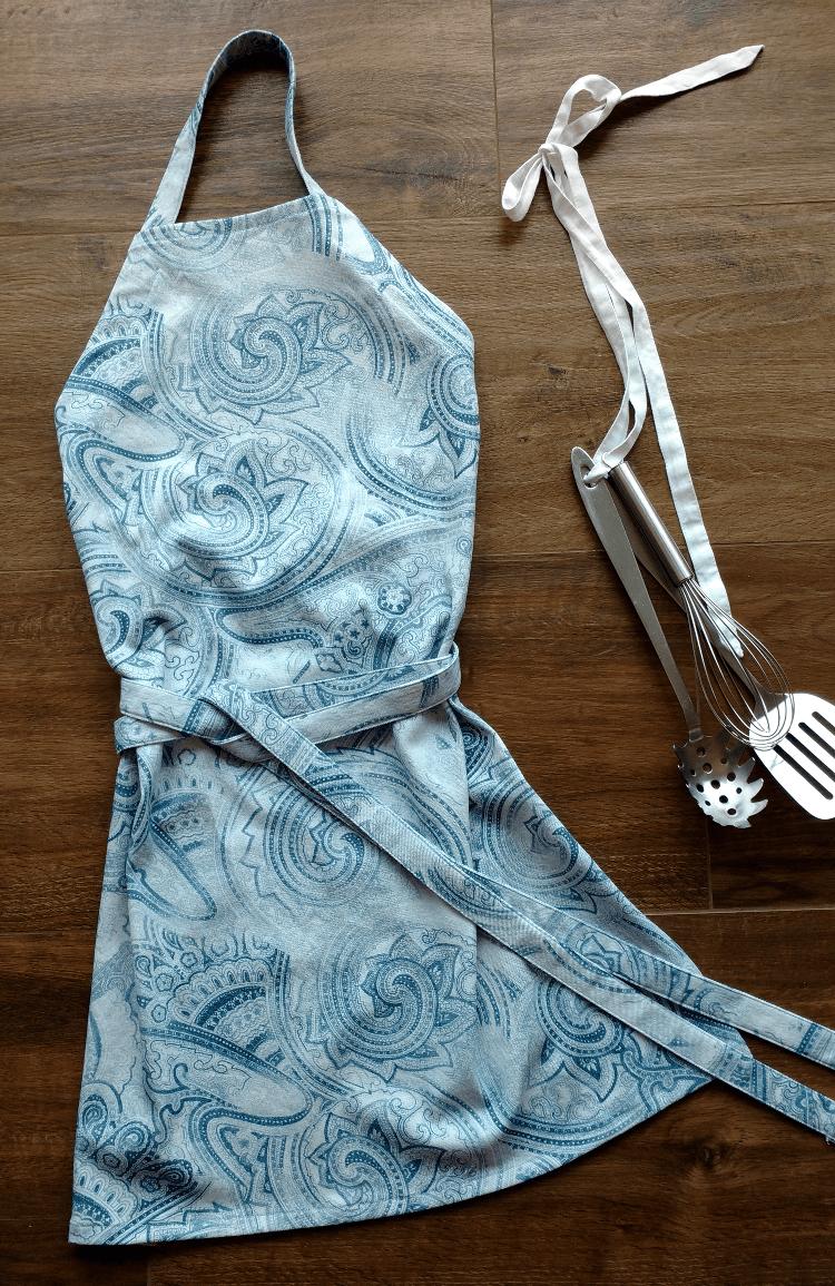 diy sewing, apron