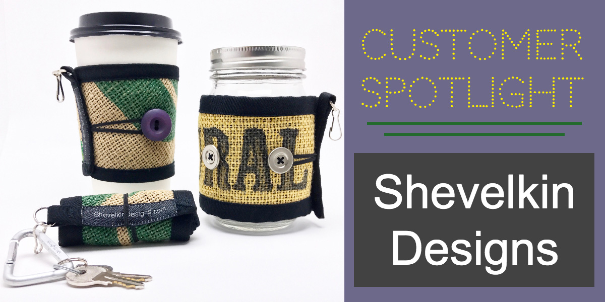 coffee cozies, brew mats, upcycled coffee bean bags