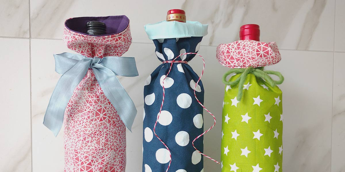 How to Make an Easy Wine Bottle Gift Bag