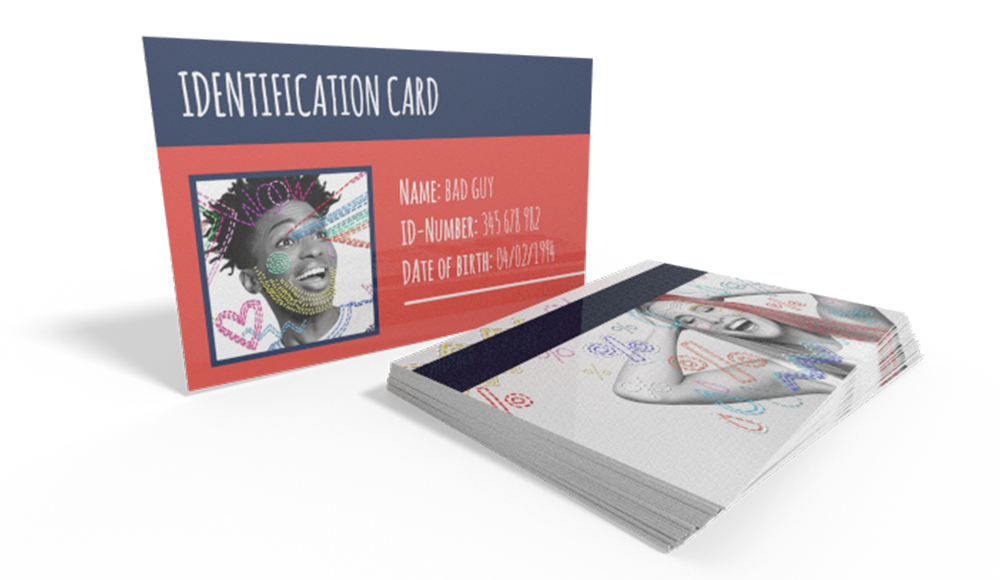 Printed Plastic Cards - with your logo