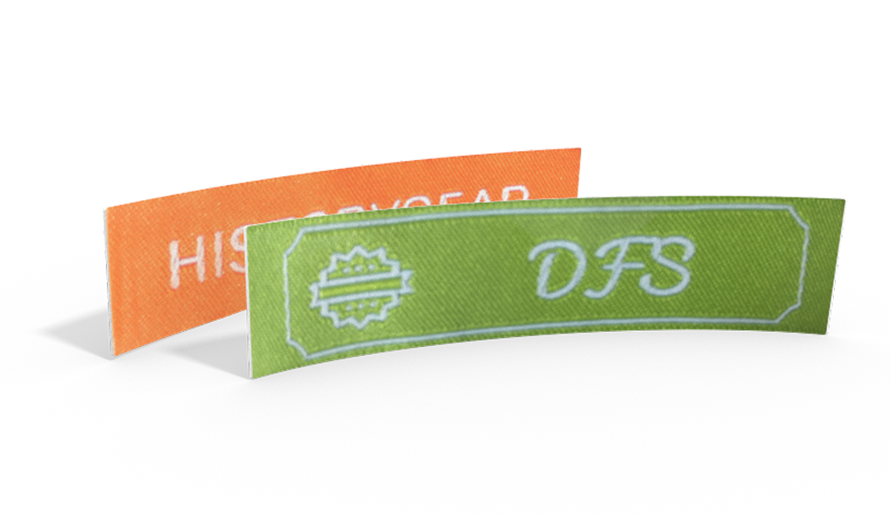 Classic Woven Labels with Text & Symbol - design online