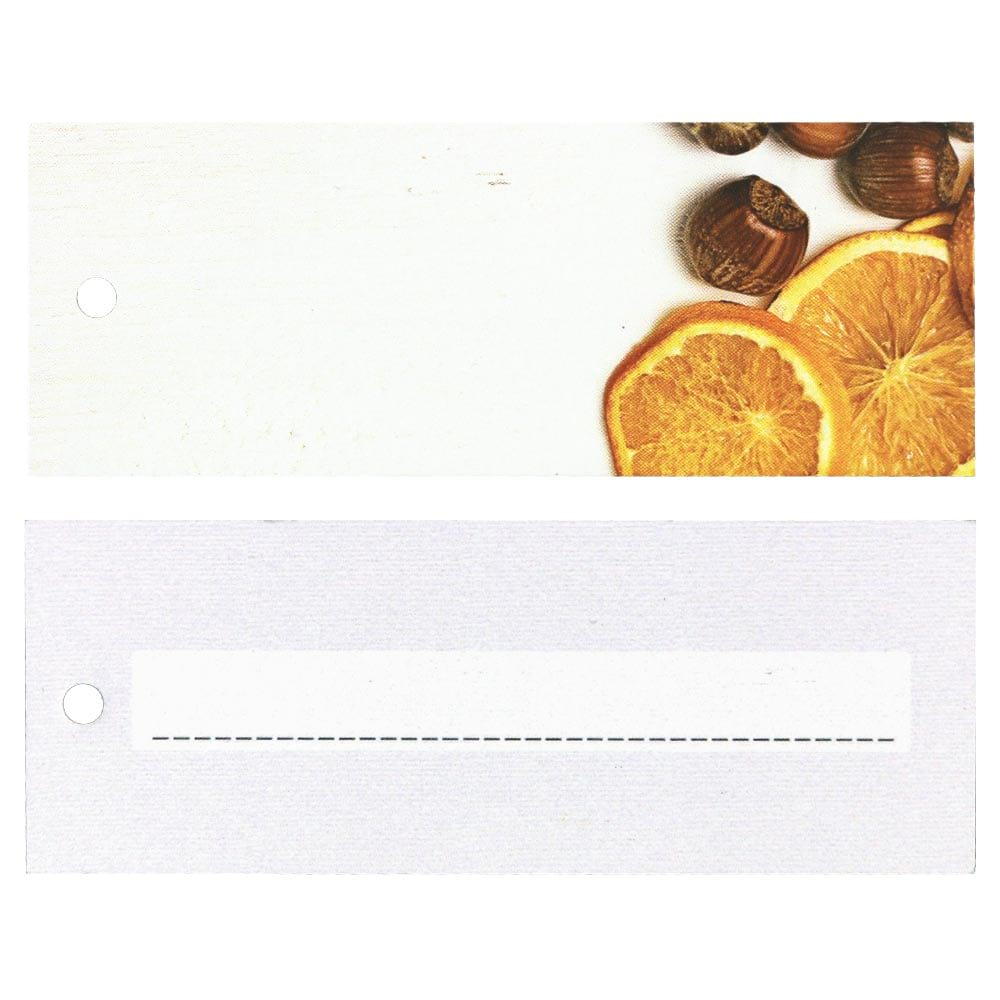 Christmas Hang Tags - Oranges and Hazelnuts