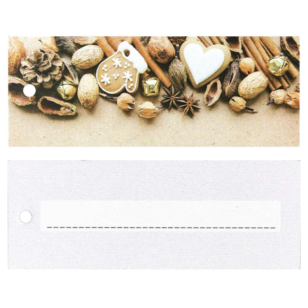 Christmas Hang Tags - Nuts and Spices